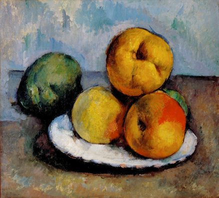 Still Life with Quince, Apples, and Pears (Paul Cézanne, ca.1885-87)