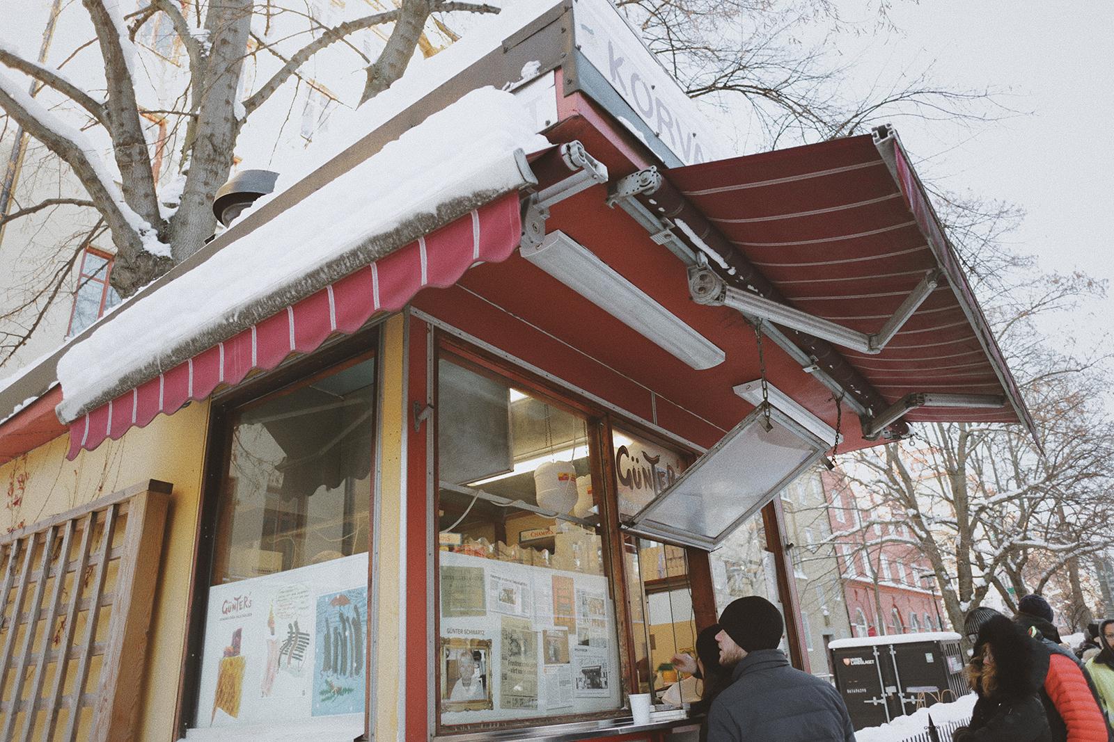 冰天雪地裡的神祕熱狗店:被寫到斯德哥爾摩各個故事裡面的 Gunter's